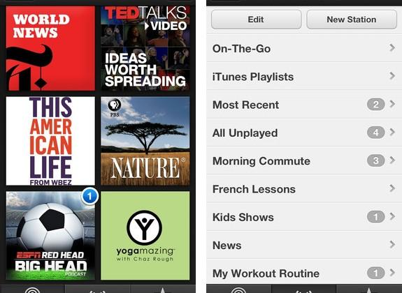 Apple Podcasts app updated with iCloud, custom stations, and playlists