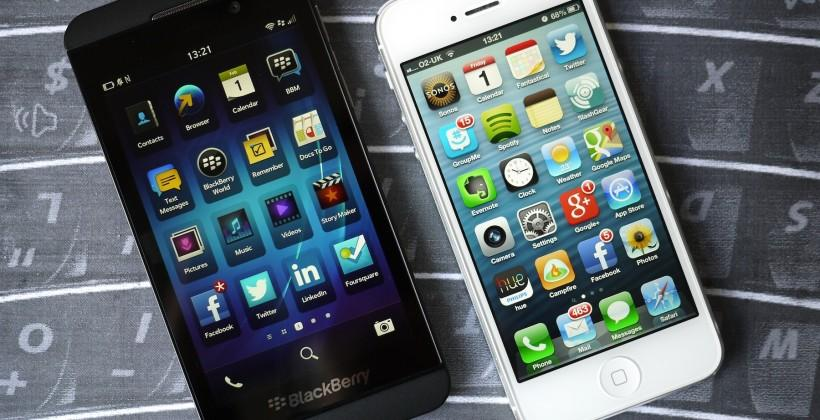 BlackBerry CEO: iPhone is old news