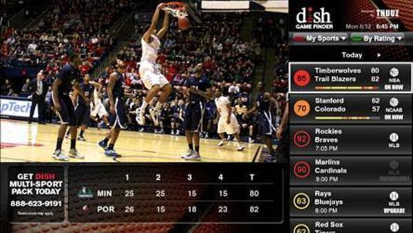 Dish Hopper second screen and mobile app updates cater to NCAA tournament fans