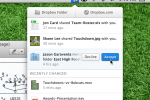Dropbox desktop client updates with redesign, improved notifications