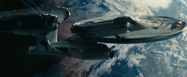 Star Trek Into Darkness International Trailer crash lands with details