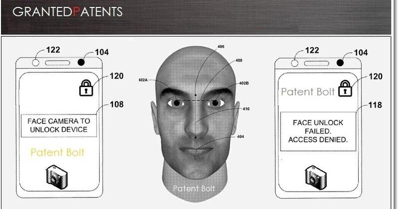 USPTO grants Google facial recognition unlock technology patent