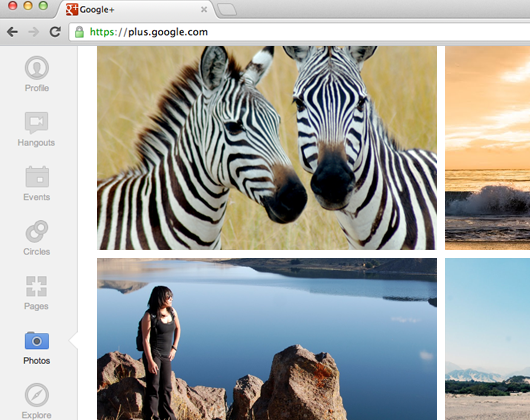 Google Picasa albums now redirect to Google+