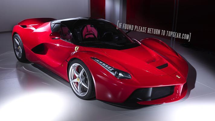 Ferrari LaFerrari super exotic goes official in Geneva