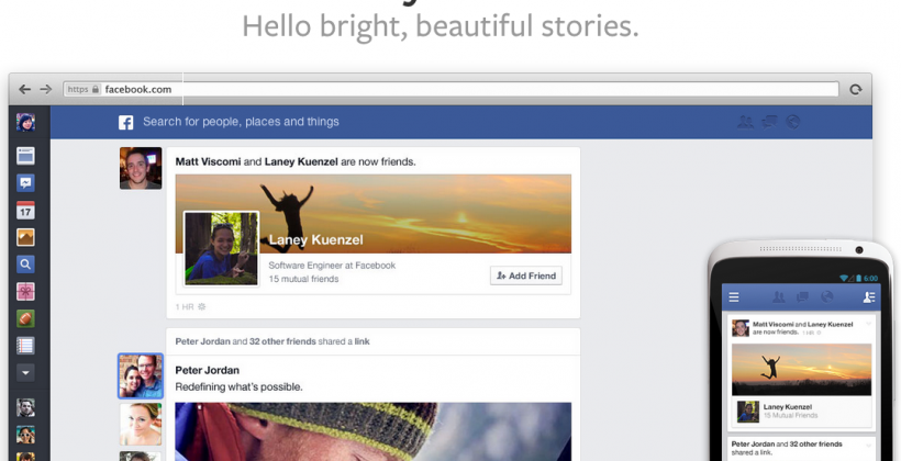 SlashGear 101: this week's Facebook News Feed redesign