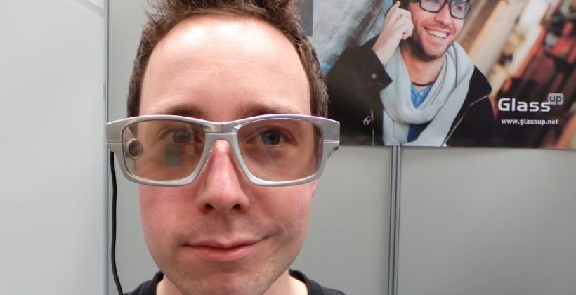 GlassUp AR glasses hands-on: Google Glass gets competition