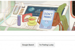 Douglas Adams' birthday celebrated with interactive Google Doodle