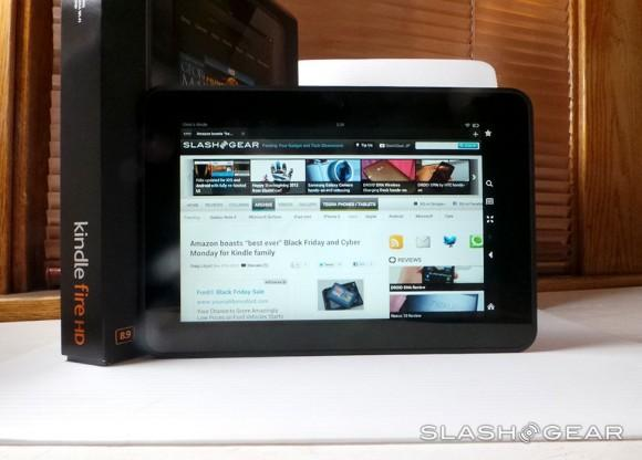 Amazon Kindle Fire HD 8.9 launches in Europe and Japan, US version now $269