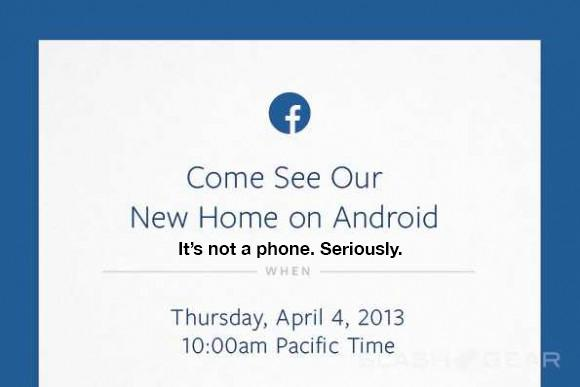 """Facebook event to reveal """"real"""" Android app (not a phone)"""