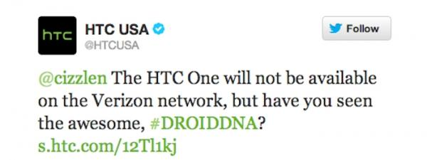 HTC One Verizon release in question as Tweets disappear