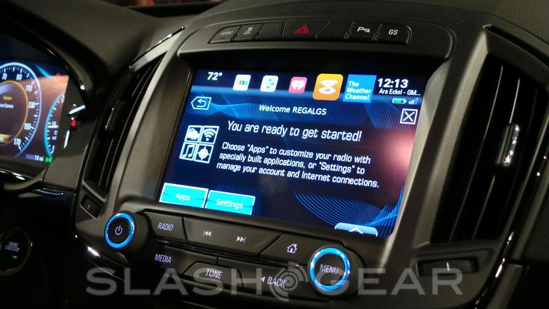 Buick's next-generation IntelliLink Infotainment system