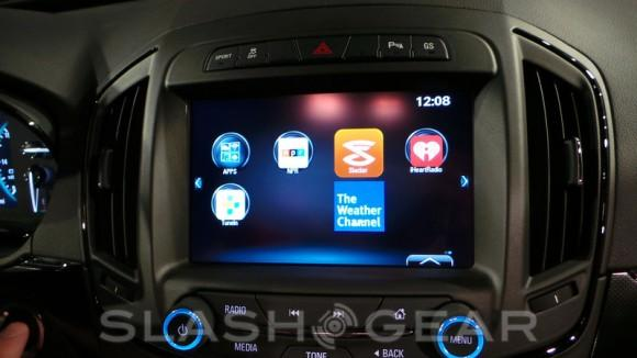 Buick's next-generation IntelliLink Infotainment system hands-on