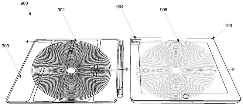Apple files for Smart Cover inductive charging patent for iPad