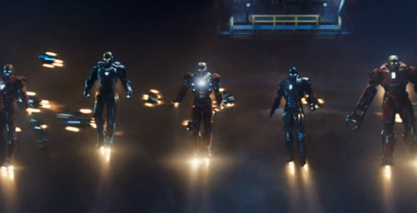 Iron Man 3 theatrical trailer unleashes army of Iron Men