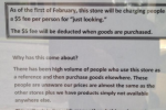 "Australian store charges five dollars per person to ""just look"""