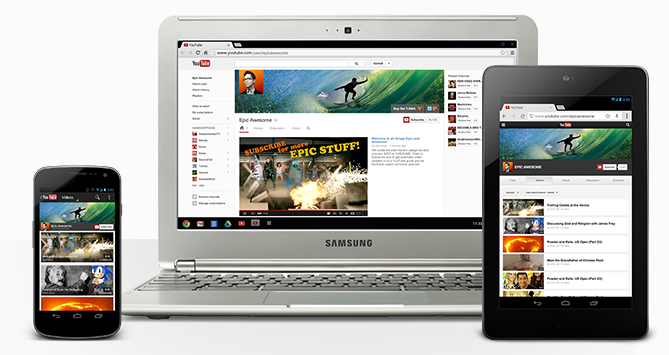 YouTube's One Channel design taken out of beta
