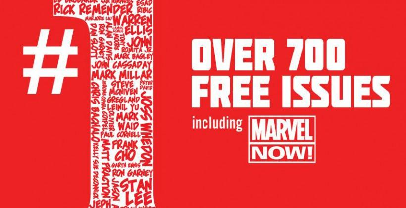 Marvel giving away 700 first issues for free