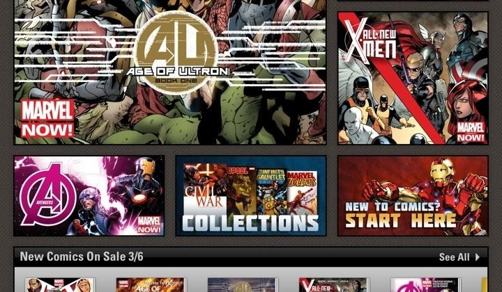 Marvel Unlimited brings 13,000 comics to iOS for $60 a year