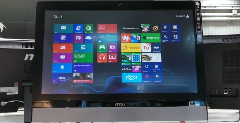 MSI AG2712 Gaming All-in-One PC hands-on