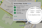 Google brings live transit data to New York and Salt Lake City
