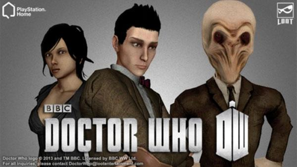 Sony and BBC bring Doctor Who to PlayStation Home