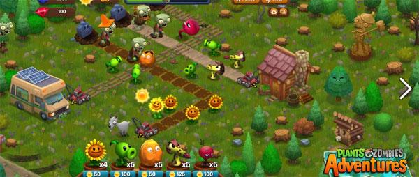 Plants vs. Zombies Adventures hits limited beta on Facebook