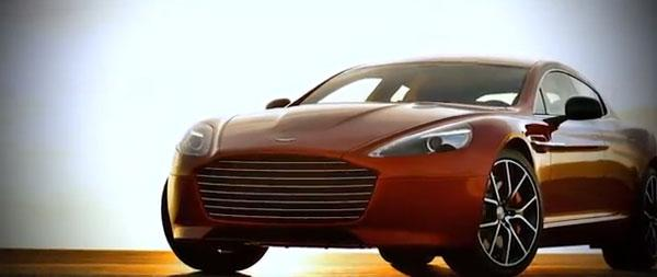 Aston Martin shows off official driving footage of Rapide S
