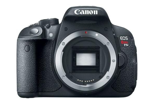 Canon EOS Rebel T5i DSLR breaks cover