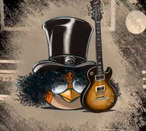 Guns N' Roses' Slash joins Angry Birds Space, performs theme song cover