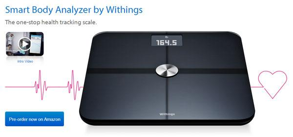Withings Smart Body Analyzer scale now shipping