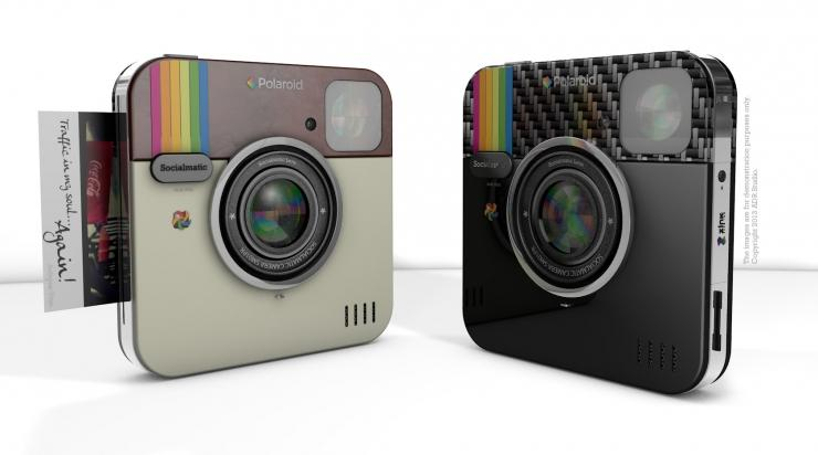 Socialmatic to make Polaroid-branded Instagram digital camera