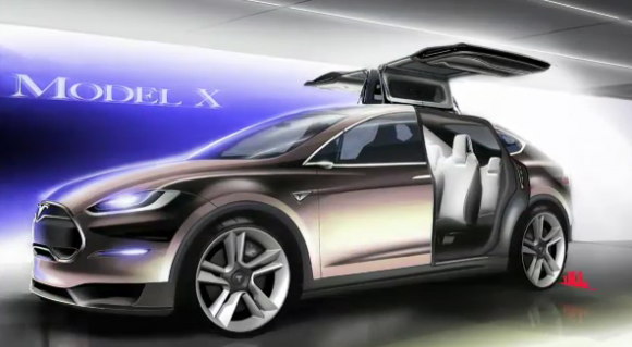 Tesla Model X delayed to late 2014