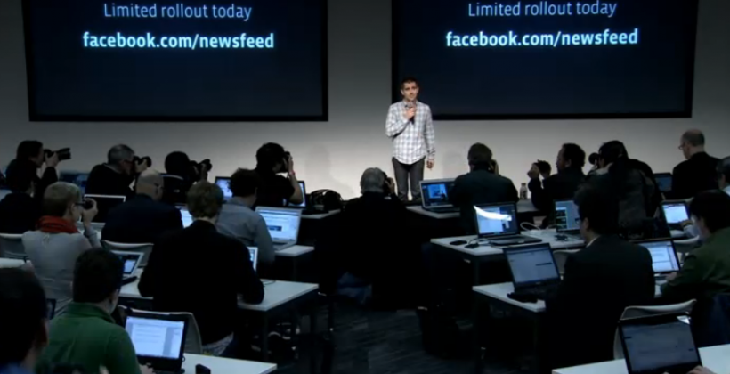 Facebook Choice of Feeds, Mobile UI detailed: rollout begins today