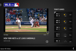 Windows Store rolls out the MLB.TV app