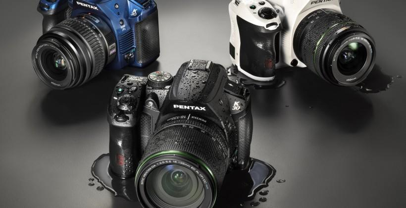Pentax unveils 15 new color options for K-30 DSLR
