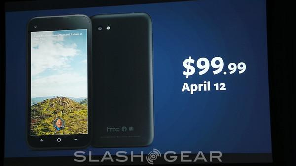 HTC first available April 12 for $99
