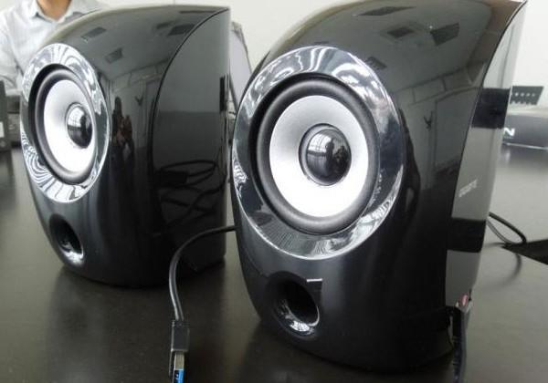 Gigabyte GP-S3000 computer speakers are the world's first to use USB 3.0