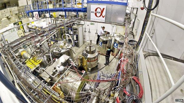 CERN tests anti-gravity potential in antimatter