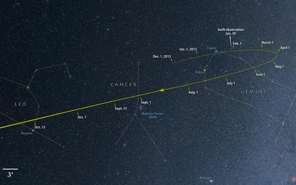 NASA spots comet that could be the brightest in decades
