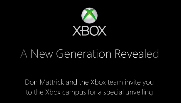 Xbox 720 event invite suggests first device reveal