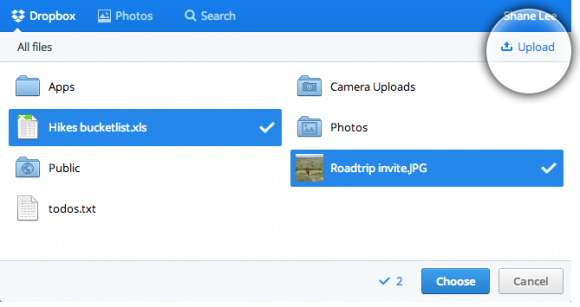 Dropbox revamps its Chooser feature  to make things easier for developers