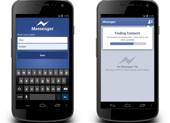 Facebook Messenger for Android updated with free voice calling
