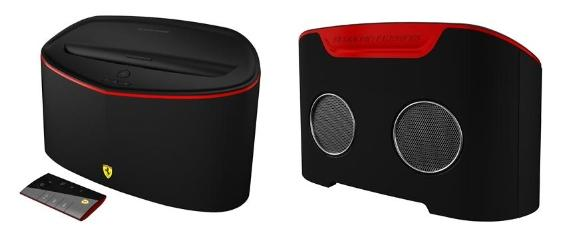 Ferrari by Login3 launches its FS1 Air Speaker Dock equipped with Airplay 1