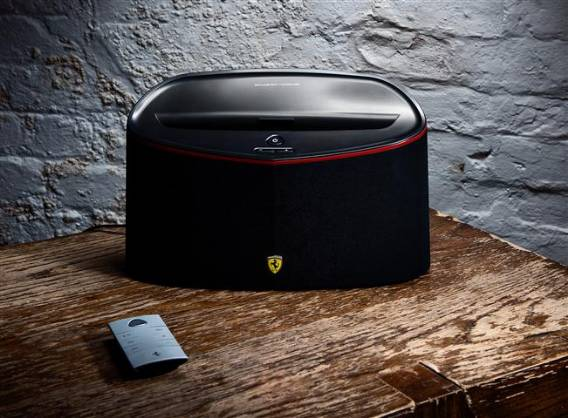 Ferrari by Logic3 launches its Scuderia FS1 Air Speaker Dock equipped with Airplay