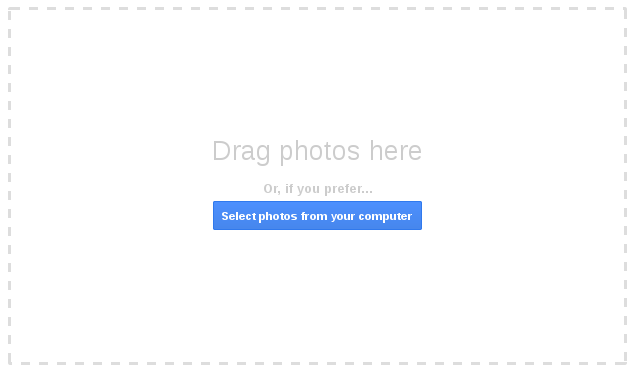 Google+ launches support for full-size photo uploads from desktop