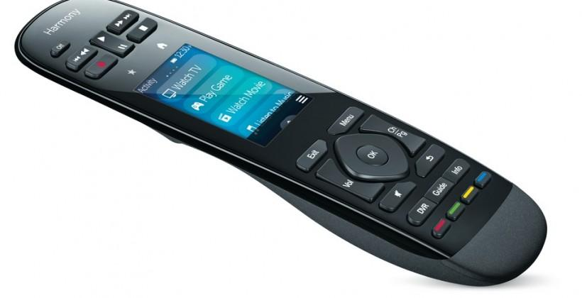 Logitech Harmony Ultimate and Smart Control app controls A/V, consoles and Hue