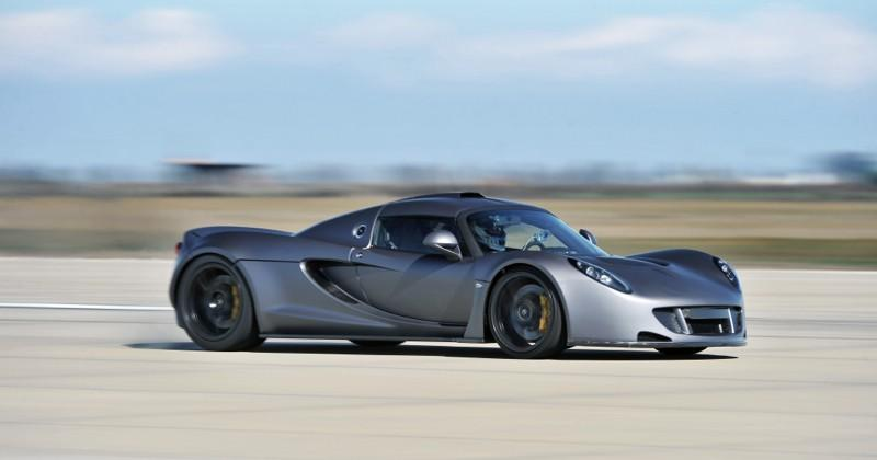 Hennessey Venom GT steals top speed record from Veyron 4