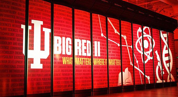 Indiana University's petaflop supercomputer bucks public trend