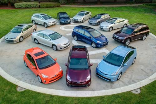 Toyota and Lexus hybrids make up 70% of total hybrid sales in the US