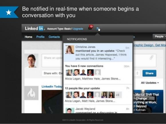 LinkedIn begins rolling out Facebook-like mentions 1